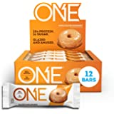 ONE Protein Bars, Maple Glazed Doughnut, Gluten Free Protein Bars with 20g Protein and only 1g Sugar, Guilt-Free Snacking for