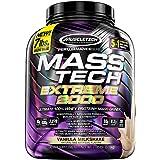 Mass Gainer Protein Powder, MuscleTech Mass-Tech Extreme 2000 Mass Gainer, Max Protein Weight Gainer, Muscle Gainer Protein P