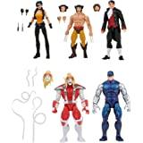 Marvel Legends Series Wolverine 5-Pack, Includes Marvel's Omega Red, Marvel's Cyber, Marvel's Callisto, Jason Wyngarde, 13 Ac