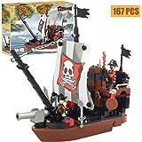 COGO ブロック おもちゃ 海賊船 知育 積み木 子供用 玩具 男の子 プレゼント 167PCS CG3118 …