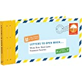 Letters to Open When...: Write Now. Read Later. Treasure Forever. (Long Distance Relationship Gifts, Gifts for Friends, Lette