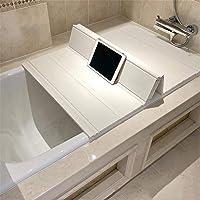 風呂ふた バスタブふた 浴槽蓋 シャッター 蓋 浴室 スリム バス ふた 折りたたみ 半身浴 風呂 抗菌 ホコリ防止 保…