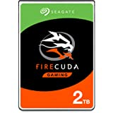Seagate FireCuda Gaming SSHD 2TB SATA 6.0Gb/s 2.5-Inch Notebooks/Laptops Internal Hard Drive (ST2000LX001)