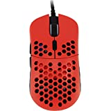 HK Gaming Mira M Ultra Lightweight Honeycomb Shell WiredRGB Gaming Mouse - Up to 12 000 cpi | 6 Buttons - 63g Only (Mira-M, M