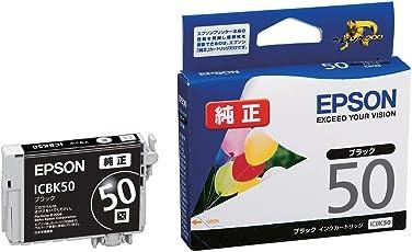 EPSON 純正インクカートリッジ  ICBK50 ブラック