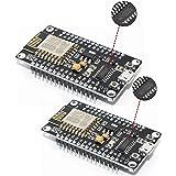 DIGISHUO 2Pcs ESP8266 NodeMCU CH340 ESP-12E Development Board Open Source Serial Module Works Great for Arduino IDE/Micropyth