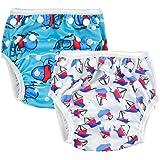 Alva Baby Swim Diapers 2pcs One Size Reuseable Adjustable 0-24 mo.Size 10-40lbs SW01-02