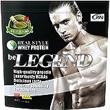 [Amazon限定ブランド] Real Nutrition ビーレジェンド ホエイプロテイン 抹茶のチャチャチャ風味【1kg】(WPC)