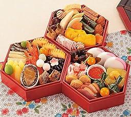 (12月30日着) 京菜味のむら おせち「華」三段重 32品