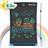 Newest 8.5 Inch Doodle Board Colorful Version LCD Screen Writing Tablet Magnetic Drawing Board Erasable Doodles Notepad for A
