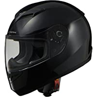 リード工業(LEAD) バイクヘルメット フルフェイス STRAX ブラック Mサイズ 57-58cm未満 SF-12