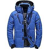 BOJIN ダウンジャケット メンズ ダウンコート カジュアル パーカー ショート 保温ジャケット 軽量 秋冬アウター 大きいサイズ