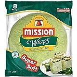 Mission Spinach & Herb Wraps, Super Soft, 8 wraps, 567g