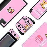 BelugaDesign Animal Switch Skin   Sticker Wrap Vinyl Decal   Cute Kawaii Pet Pastel Full Set Compatible with Nintendo Switch