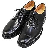 [サンダース] Military Derby Shoe』(Black)