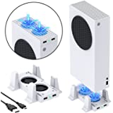 Cooling Stand for Xbox Series S Console, YUANHOT Cooler Fan System Dock Station Accessories (Only for Xbox Series S)