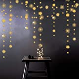 pinkblume Gold Star Party Decorations Kit Sparking Twinkle Star Garland Glitter Paper Streamer Banner for Birthday Wedding Br