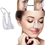 Trenddy Nose Shaper Lifter Clip Beauty Nose Up Lifting Soft Safety Silicone Rhinoplasty Nose Straightener for Wide Nose Women