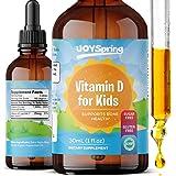 Kids Vitamin D Drops - Vitamin D for Kids - Tasty Childrens Vitamin D3 K2 Drops - Kids Immune Support & Bone Health - 1,000 I