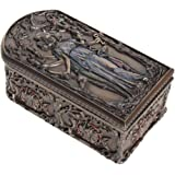 Hecate The Goddess of Magic Witchcraft Ghosts and Necromancy Trinket Box Cold Cast Bronze