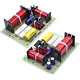 AUTUT 2Pcs 180W 3 Way Audio Frequency Divider Crossover Filter