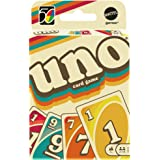 Mattel UNO 1970 Iconic Edition Card Game Multicolor