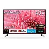 TCL 40型 フルハイビジョン スマートテレビ(Android TV) 40S515 Amazon Prime Video対応 外付けHDDで裏番組録画対応 2020年モデル
