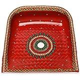 DEVIKA Pooja Supadi for Baby Shower, Festive and Gifting. for Shithla Satam, Navratri, Dashera Diwali! (Supadi, Decorative)