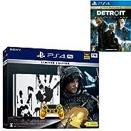 PlayStation 4 Pro DEATH STRANDING LIMITED EDITION + Detroit: Become Human セット【Amazon.co.jp特典】オリジナルカスタムテーマ (配信)