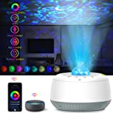 Star Projector,Night Light Projector,Smart Galaxy Projectore Compatible with Alexa,Google Home,LED Night Lights for Kids,APP