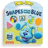 Melissa & Doug Blue's Clues & You! Children's Book - Poke-A-Dot: Shapes with Blue