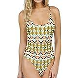 Volcom Women's Native Drift 1pc Bathing Suit - Orange