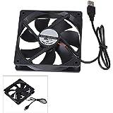 BQLZR 12CM Black DC 5V 12025 USB Power Ball Bearing Computer Case Cooling Fan 2400RPM