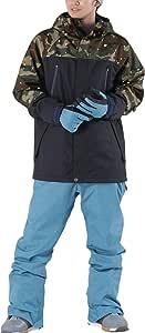 PONTAPES(ポンタぺス) スノーボード ウェア 上下セット 全9色 メンズ レディース 6サイズ XS-XXL 耐水圧10,000mm PX-SET PX-01(M-990*M-330) Sサイズ スノーウェア スノボウェア スキーウェア ウエア 男性用 女性用 スノボーウェア 19-20 新作 おしゃれ スノーボード ウェア スノボ ウェア スキー ウェア スノボー ウェア ジャケット パンツ 中綿 防寒 滑雪服 ブラック 黒 無地