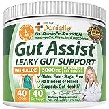 Gut Assist - Leaky Gut Repair Supplement Powder - Glutamine, Arabinogalactan, Licorice Root - Supports IBS, Heartburn, Bloati