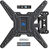 Mounting Dream Full Motion TV Wall Mounts Bracket with Perfect Center Design for 26-55 Inch LED, LCD, OLED Flat Screen TV, TV