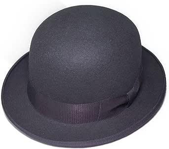 ボーラー FUJIコラボレーション フェルトボーラーハット ダービーハット 山高帽 ブラック系