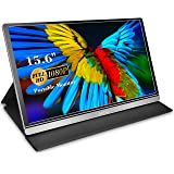 Portable Monitor - Lepow Z1-Gamut (2020) 15.6 Inch FHD 1080P 100% sRGB Computer Display USB C Eye Care Screen with HDMI Type-