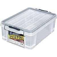 JEJアステージ 収納ボックス 日本製 パッキン付き 簡易密閉型 コンテナ 積み重ね [シールドコンテナ シャット#13…