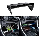 JDMCAR Center Console Organizer Compatible with RAV4 2021 2020 2019, ABS Material Insert Tray Gear Shift Secondary Storage Bo