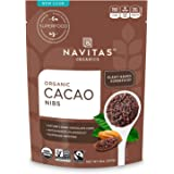 Navitas Organics Cacao Nibs, 8 oz. Bag — Organic, Non-GMO, Fair Trade, Gluten-Free
