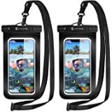 2枚セット [2021最新版] Syncwire 防水ケース スマホ用 IPX8認定 保護密封 Face ID認証 iPhone 11 Pro XS MAX XR X 8 7 6s 6 Plus SE 5s Samsung galaxy S10 S9