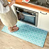 "Small Rug Mat Doormat Geometry Pattern Kids Room Kitchen Rug,17.7""x31.5"" Lattice Trellis Accent Area Rug Entry Way Bright Car"