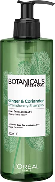 L'Oréal Paris Botanicals Coriander Strengthening Shampoo 400ml