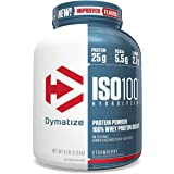 Dymatize Iso-100 Strawberry - 5 LBS