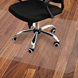 Office Chair and Desk Floor Mat for Hardwood Floors, Best Under Computer Tables and Furniture, 4735 Inches Durable and Non-Sl
