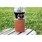 Roost Outdoors 【本革で製作】【手の込んだダブルステッチ】 OD缶 ガス缶カバー(ダブルステッチタイプ) ガス缶 OD缶 カバー レザー 本革 500サイズ ケース 茶紐
