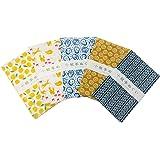Miyamoto-Towel 日本製 手ぬぐい 小紋手拭 ベーシック柄5 5枚セット 33×90cm