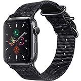 For Apple Watch バンド, Fintie 編みナイロン 時計バンド 交換ベルト アップルウォッチ交換ストラ…