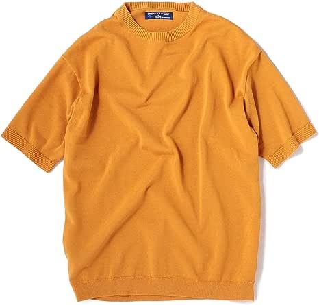 [シップス] ニット Tシャツ 半袖 メンズ 116010597 オレンジ S